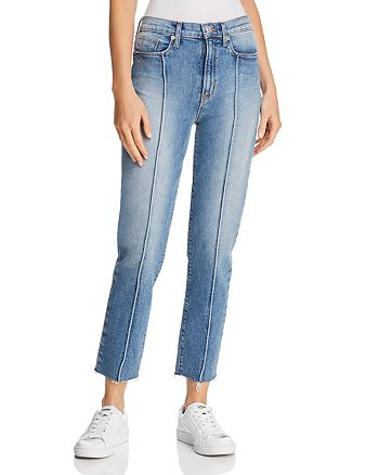 Hudson - Zoeey High Rise Straight Jeans in Expression