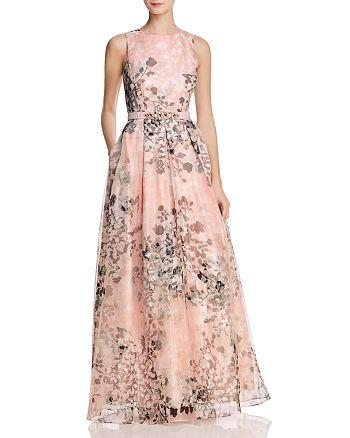 Eliza J - Organza Floral Gown