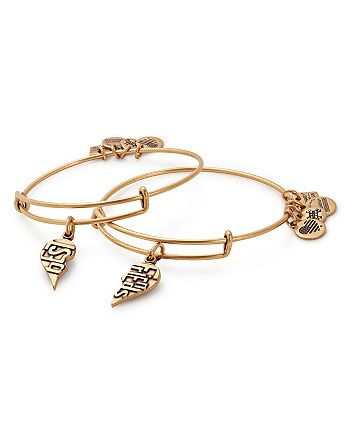 Alex and Ani - Best Friends Expandable Wire Bangles, Set of 2