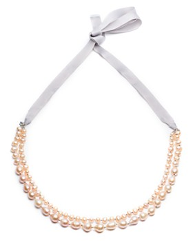 """Carolee - Knotted Two Row Necklace, 16-36"""""""
