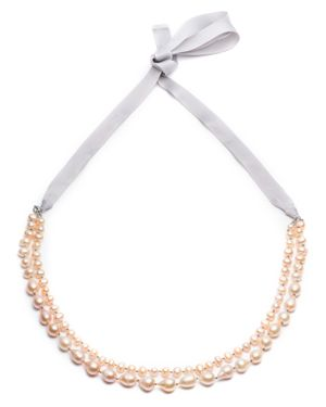 Carolee Knotted Two Row Necklace, 16-36