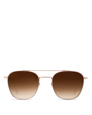 Krewe Sunglasses Earhart In Titanium Mirrored Brand New