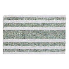 bluebellgray - Mingled-Stripe Bath Rug