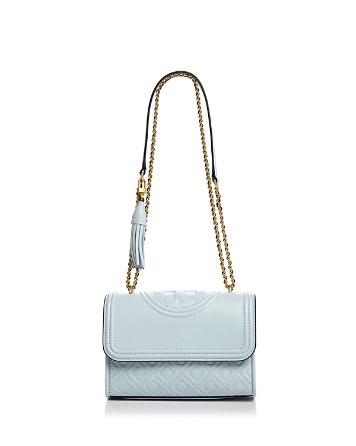 $Tory Burch Fleming Convertible Small Leather Shoulder Bag - Bloomingdale's