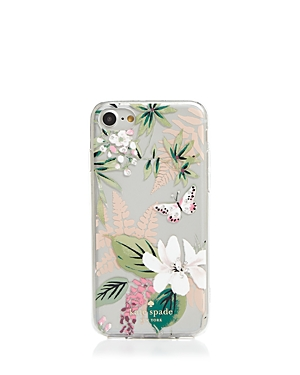 kate spade new york Jeweled Botanical Clear iPhone 7/8 Case