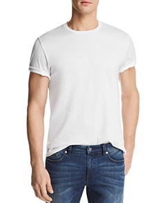 The Men's Store at Bloomingdale's Pima Cotton Crewneck Tee - 100% Exclusive_0