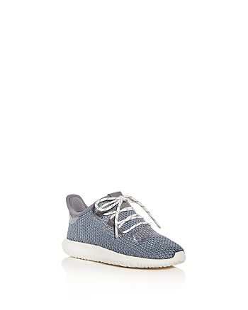 Adidas - Unisex Tubular Shadow Glitter Knit Lace Up Sneakers - Walker, Toddler
