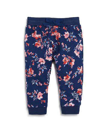 Splendid - Girls' Floral-Print Jogger Pants - Baby