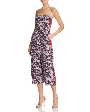 Whistles Lyza Floral Silk Jumpsuit - 100% Exclusive