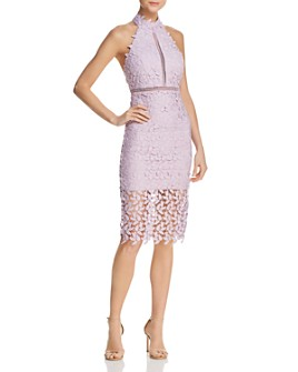 Bardot - Gemma Lace Halter Dress