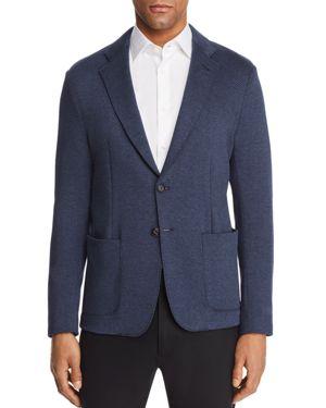 Emporio Armani Fine Patterned Regular Fit Sport Coat