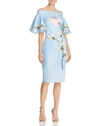 Ted Baker - Lauraen Harmony Off-the-Shoulder Dress - 100% Exclusive
