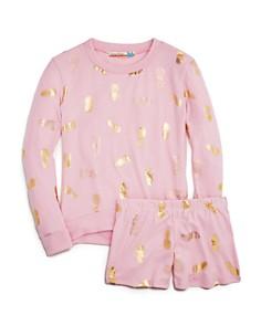 Vintage Havana Girls' Pineapple-Print Sweatshirt & Shorts - Big Kid - Bloomingdale's_0
