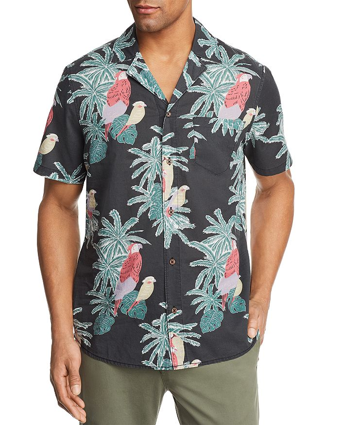 Banks Journal - Macaw Short Sleeve Button-Down Shirt - 100% Exclusive