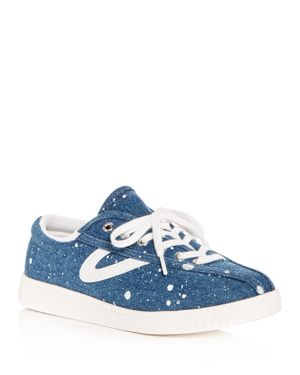 WOMEN'S NYLITE PLUS DENIM LACE UP SNEAKERS