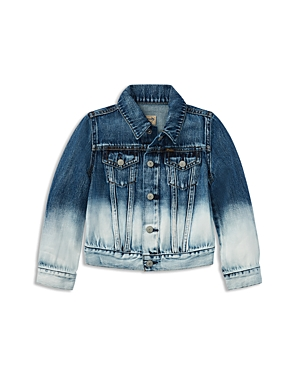 Polo Ralph Lauren Girls DipDyed Denim Jacket  Little Kid