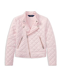 Polo Ralph Lauren Girls' Quilted Moto Jacket - Big Kid - Bloomingdale's_0