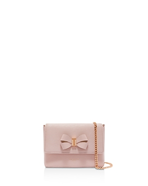 Ted Baker  BOWII BOW DETAIL MINI BARK LEATHER CROSSBODY