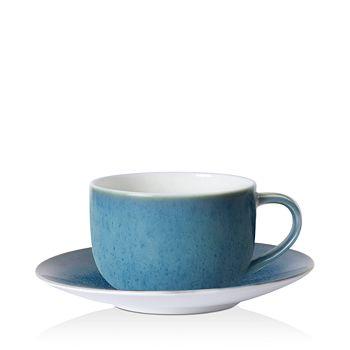 Royal Crown Derby - Art Glaze Candied Sky Tea Saucer