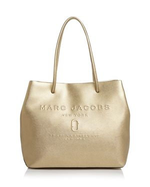Marc Jacobs Logo East/West Leather Tote 2958053