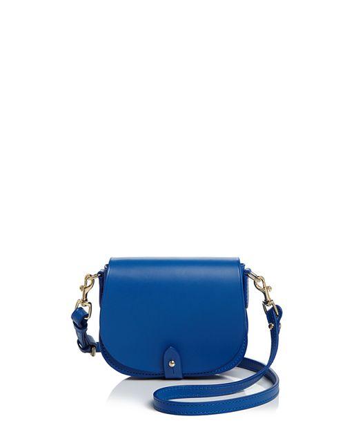 Celine Lefebure - Camille Mini Leather Saddle Bag - 100% Exclusive