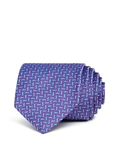 Brooks Brothers Square Neat Classic Tie - Bloomingdale's_0