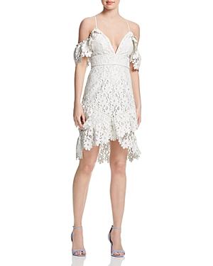 Saylor Painted Lace Dress