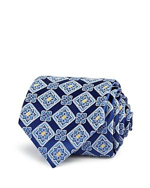 Canali Diamond Medallion Classic Tie