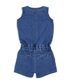 7 For All Mankind - Girls' Denim Button-Up Romper - Big Kid