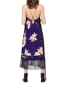 Zadig & Voltaire - Roses Blossom Silk Dress