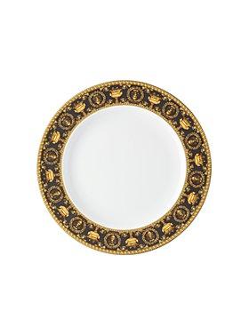 Versace - I Love Baroque Nero Dinner Plate