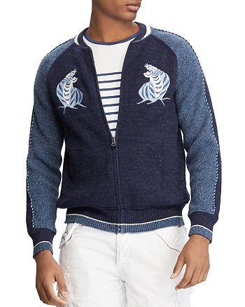4db2c2270bf Polo Ralph Lauren - Souvenir Full-Zip Baseball Sweater