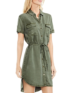 Vince Camuto Utility Shirt Dress