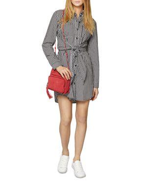 Sanctuary Tali Tie-Front Shirt Dress