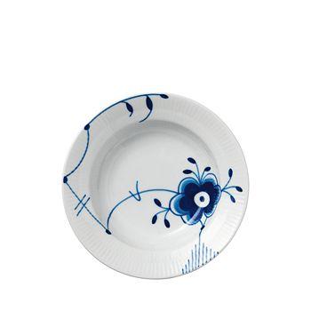 Royal Copenhagen - Blue Fluted Mega Rim Soup Bowl