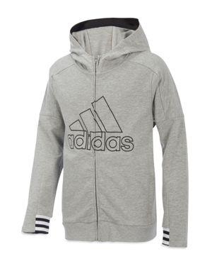 Adidas Boys' Zip-Up Hoodie Jacket - Big Kid thumbnail