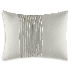 Vera Wang Ripple Tucks Decorative Pillow, 12 x 16