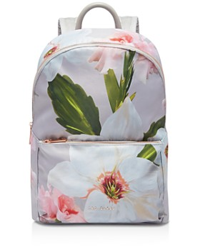 Ted Baker - Osmoni Chatsworth Bloom-Print Nylon Backpack