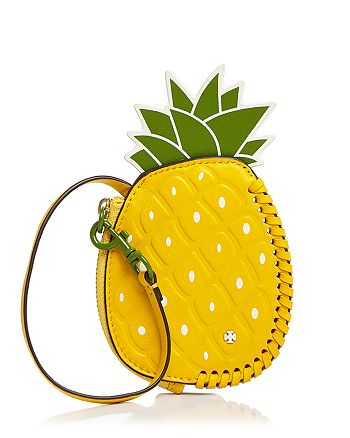 4e71cffc148 Tory Burch - Pineapple Leather Coin Pouch