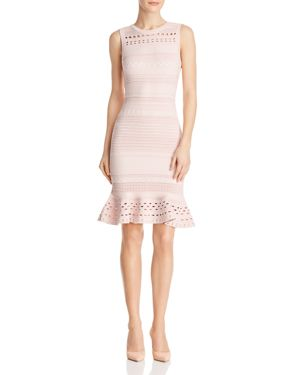 Milly Knit-Lace Mermaid Dress