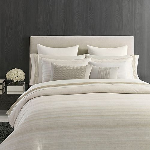 Vera Wang - Stripe Sateen Bedding Collection - 100% Exclusive