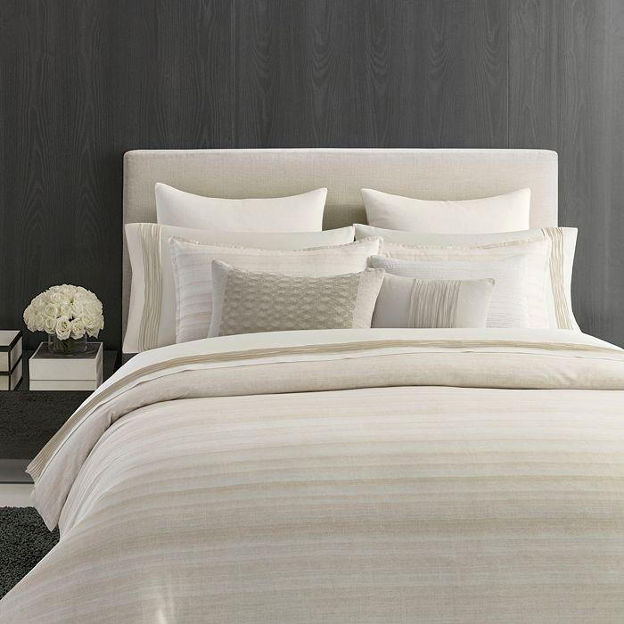 Vera Wang - Stripe Sateen Bedding Collection - 100% Exclusive