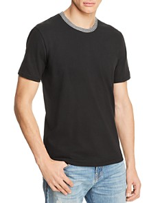 7 For All Mankind Short Sleeve Ringer Tee - Bloomingdale's_0