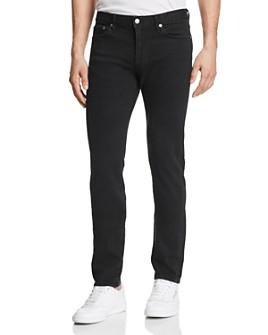 S.M.N Studio - Finn Skinny Fit Jeans in Black Rock