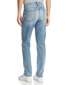 7 For All Mankind - Adrien Luxe Sport Slim Fit Jeans in Authentic Sonar