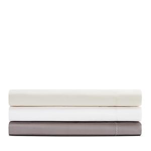 Yves Delorme Roma Percale Flat Sheet, King