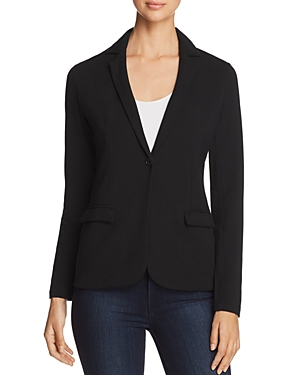 Majestic Filatures One-Button Knit Blazer