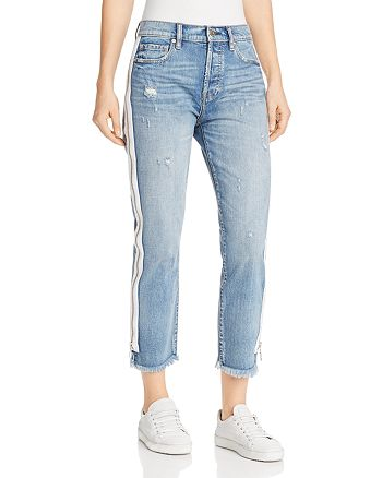 Pistola - Charlie Zip-Detail Straight-Leg Jeans in My Way