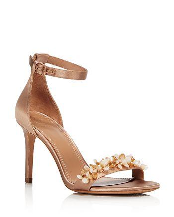 4e9d86d186a7 Tory Burch - Women s Logan Embellished Satin Sandals