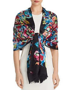 Echo Floral Print Wrap - 100% Exclusive - Bloomingdale's_0